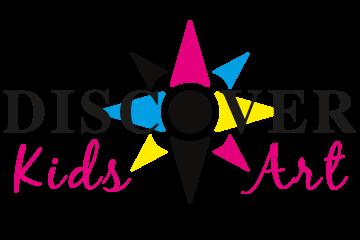Discover Kids Art Printing Logo